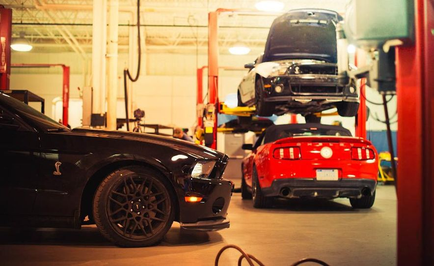 2013 Ford Mustang Shelby GT500 - Slide 31