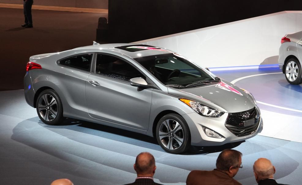 new car release dates 20132013 Hyundai Elantra Coupe  Photo Gallery  Car and Driver