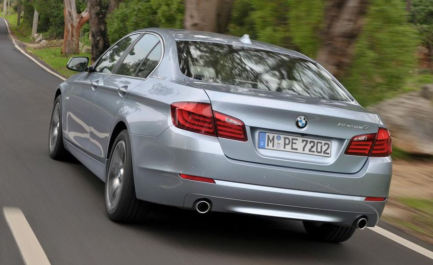 2012 BMW ActiveHybrid 5 - Slide 9