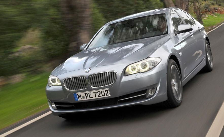 2012 BMW ActiveHybrid 5 - Slide 14