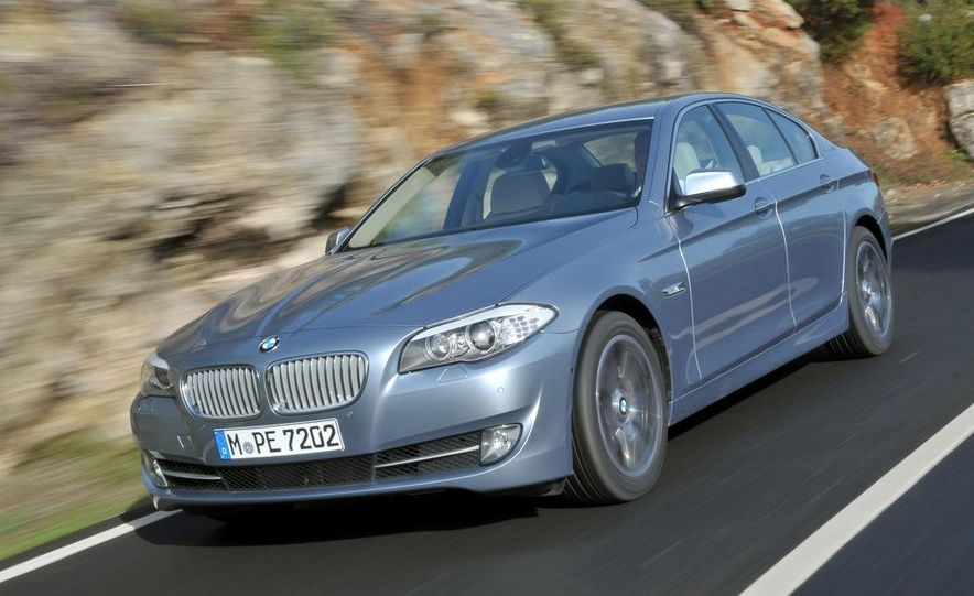 2012 BMW ActiveHybrid 5 - Slide 16