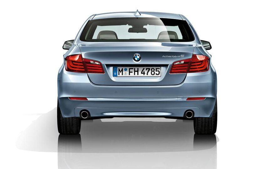 2012 BMW ActiveHybrid 5 - Slide 42