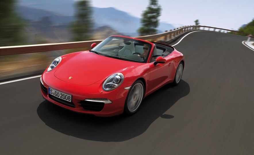 2012 Porsche 911 Carrera S Cabriolet - Slide 1