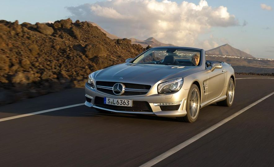 2013 Mercedes-Benz SL63 AMG - Slide 46