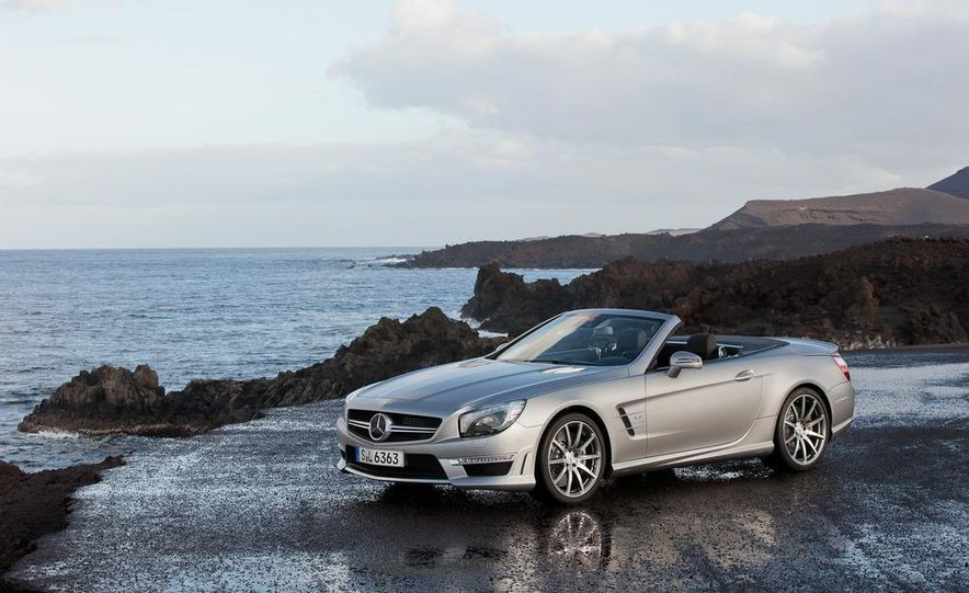 2013 Mercedes-Benz SL63 AMG - Slide 47