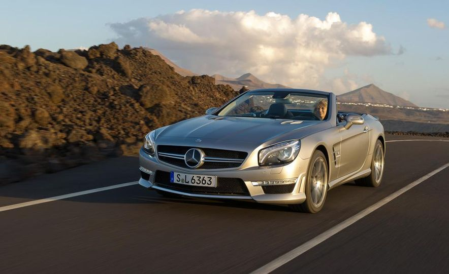 2013 Mercedes-Benz SL63 AMG - Slide 57