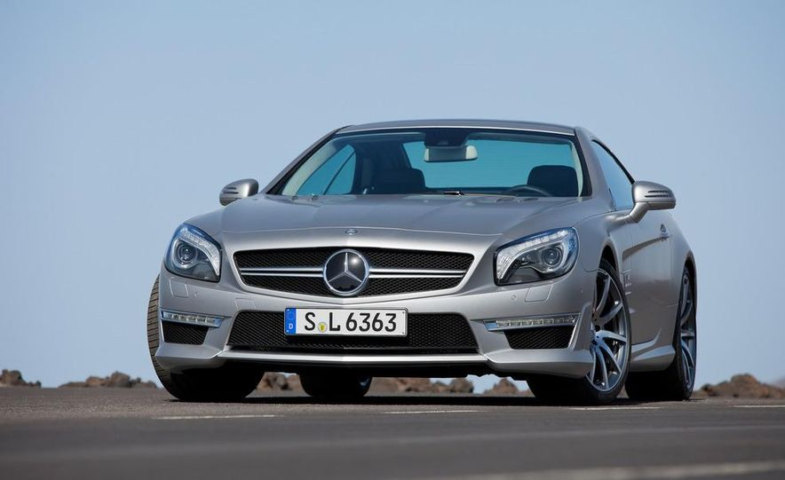 2013 Mercedes-Benz SL63 AMG - Slide 59