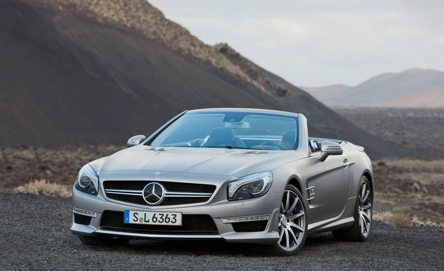 2013 Mercedes-Benz SL63 AMG - Slide 62