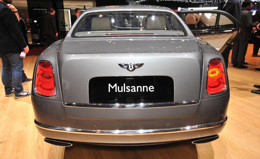 2013 Bentley Mulsanne Mulliner - Slide 6