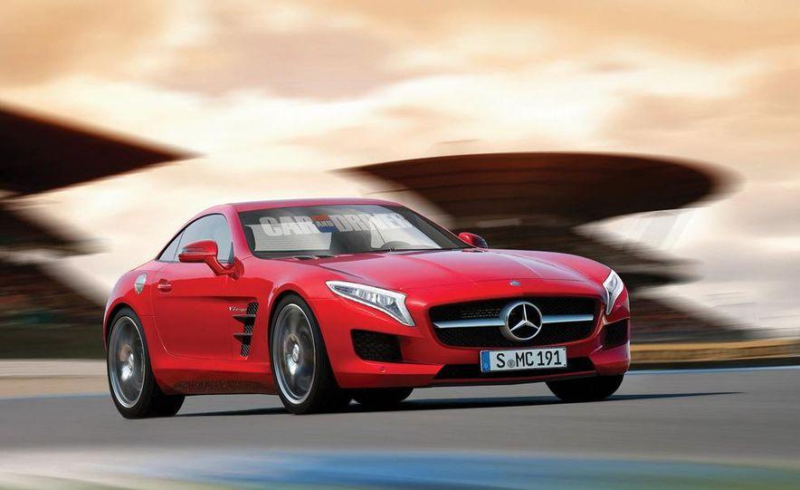 2015 Mercedes-AMG SLC (artist's rendering) - Slide 1