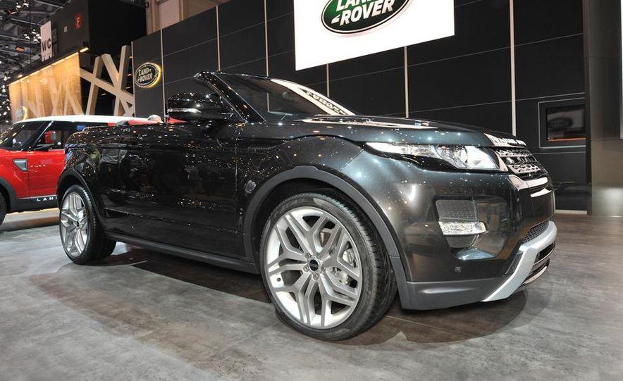 Land Rover Range Rover Evoque convertible concept - Slide 1