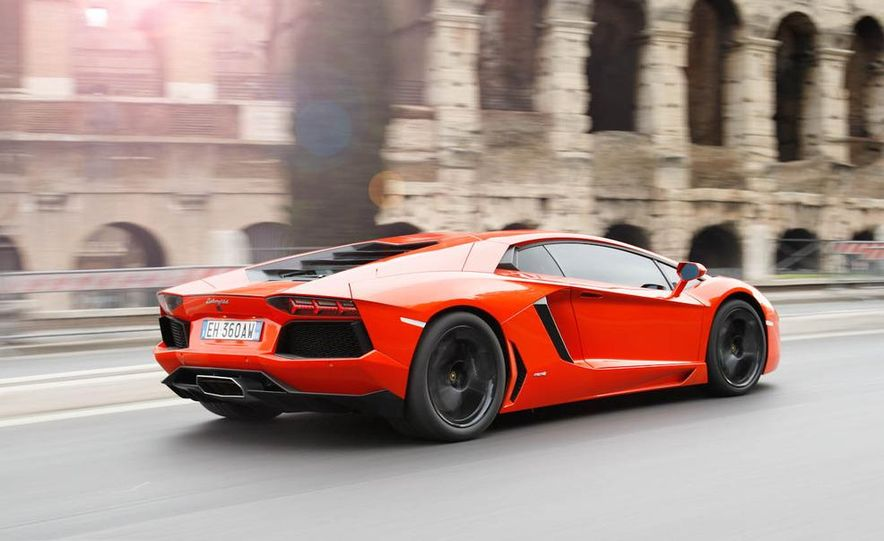 2013 Lamborghini Aventador Roadster (spy photo) - Slide 9