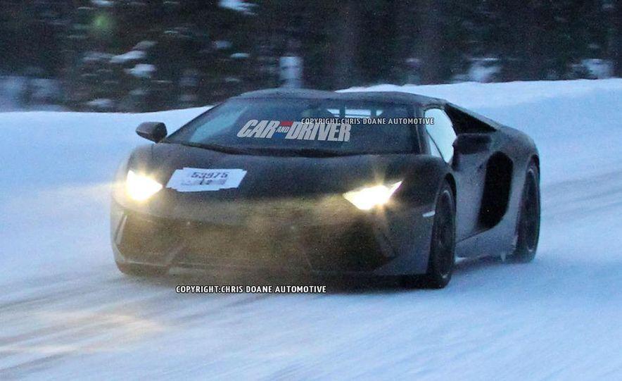 2013 Lamborghini Aventador Roadster (spy photo) - Slide 1