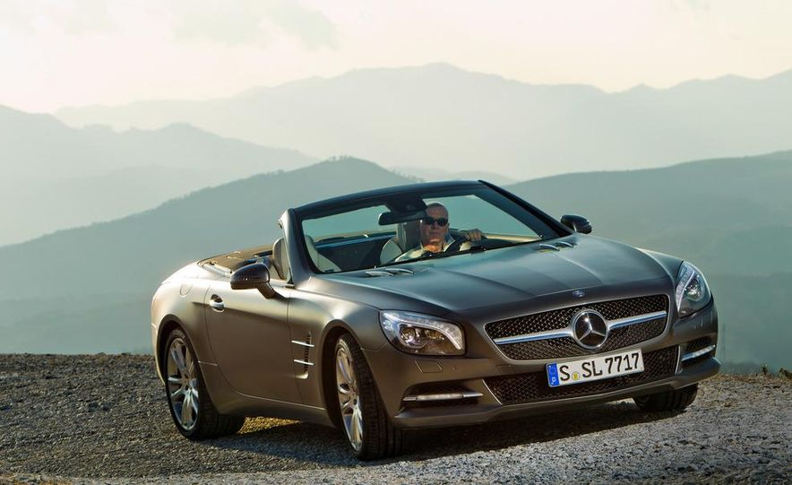 2013 Mercedes-Benz SL500 - Slide 9