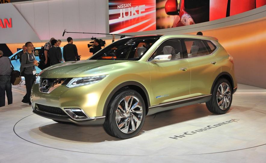 Nissan Hi-Cross concept - Slide 13