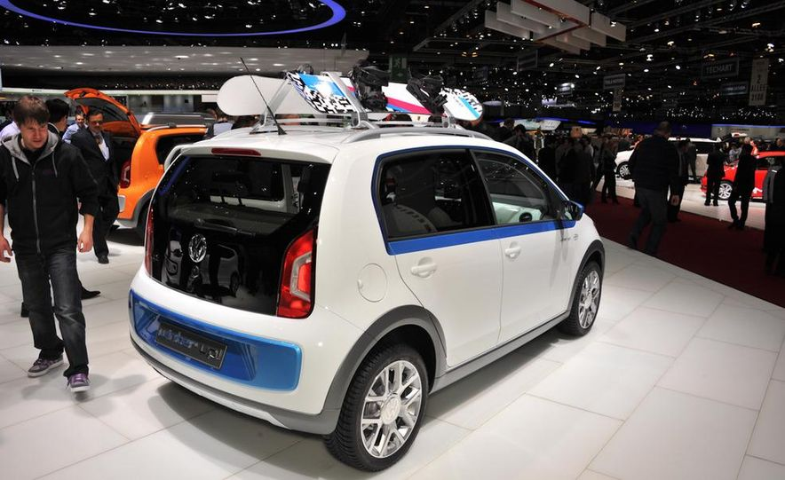 Volkswagen Cargo Up! concept - Slide 12