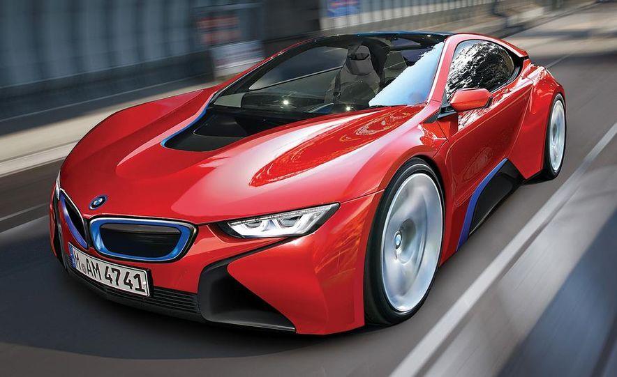 2015 BMW i8 (artist's rendering) - Slide 1