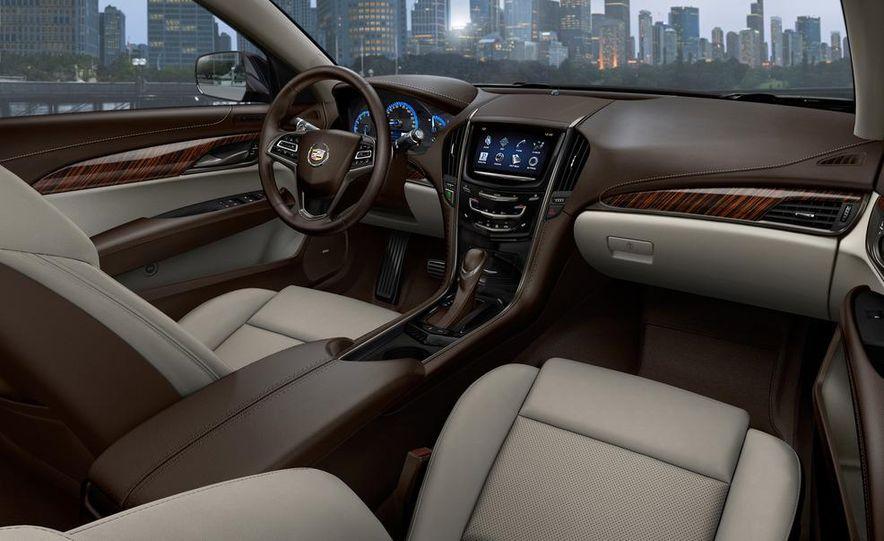 2014 Cadillac ATS-V (artist's rendering) - Slide 9