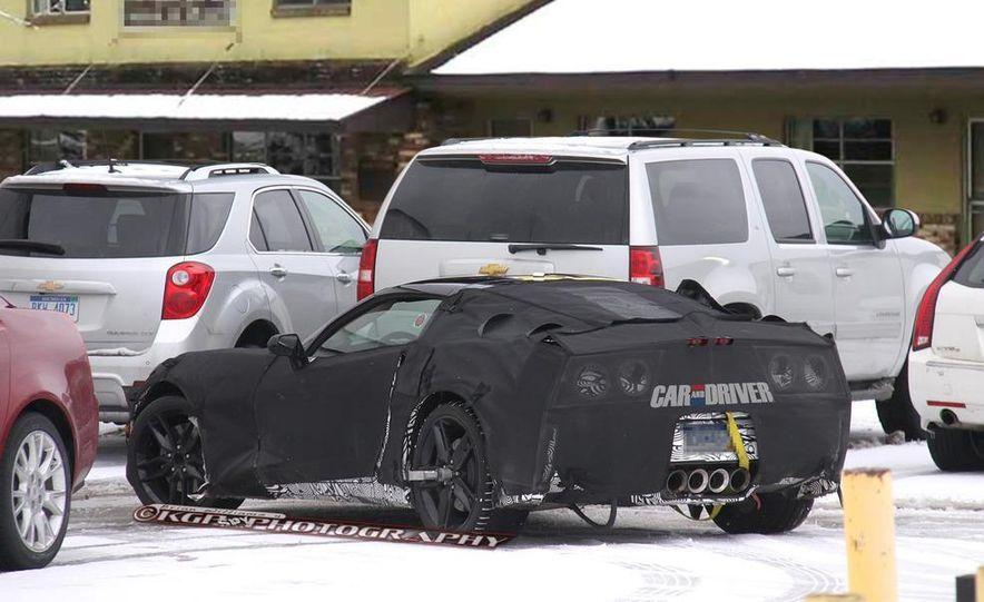2014 Chevrolet Corvette C7 (artist's rendering) - Slide 4
