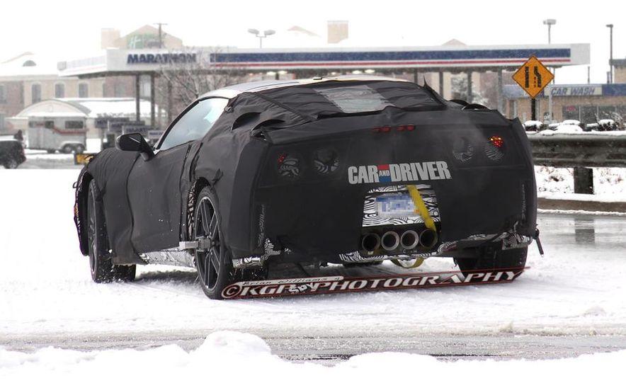 2014 Chevrolet Corvette C7 (artist's rendering) - Slide 6