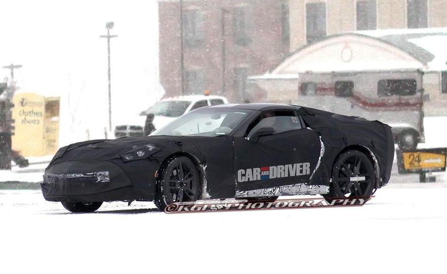 2014 Chevrolet Corvette C7 (artist's rendering) - Slide 8