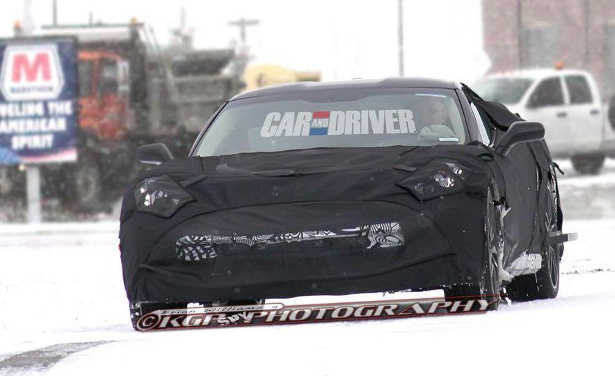 2014 Chevrolet Corvette C7 (artist's rendering) - Slide 11