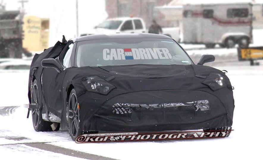 2014 Chevrolet Corvette C7 (artist's rendering) - Slide 13