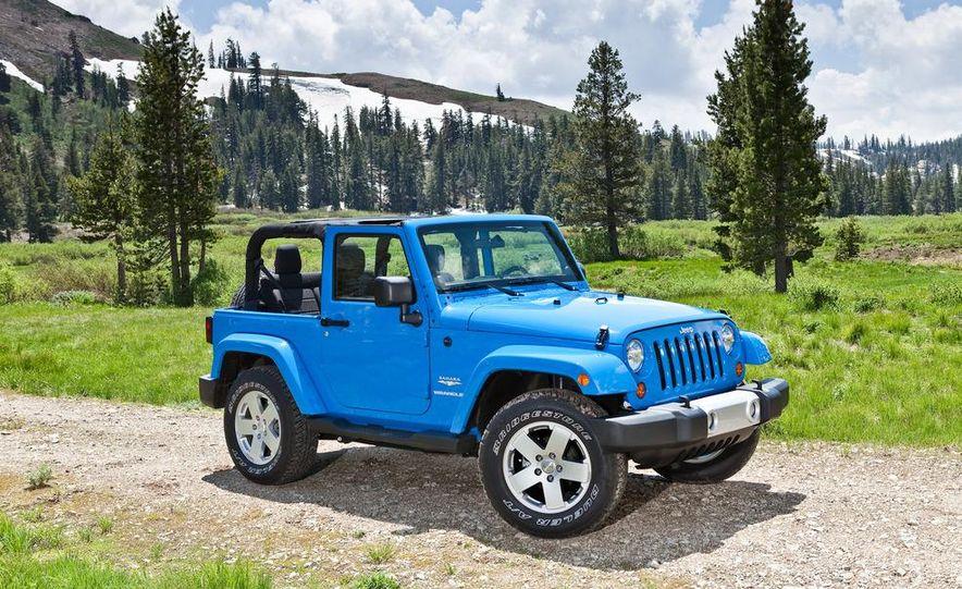 2012 Jeep Wrangler Sahara - Slide 39
