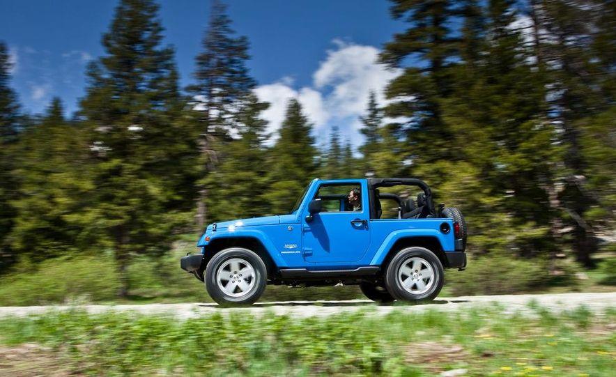 2012 Jeep Wrangler Sahara - Slide 34