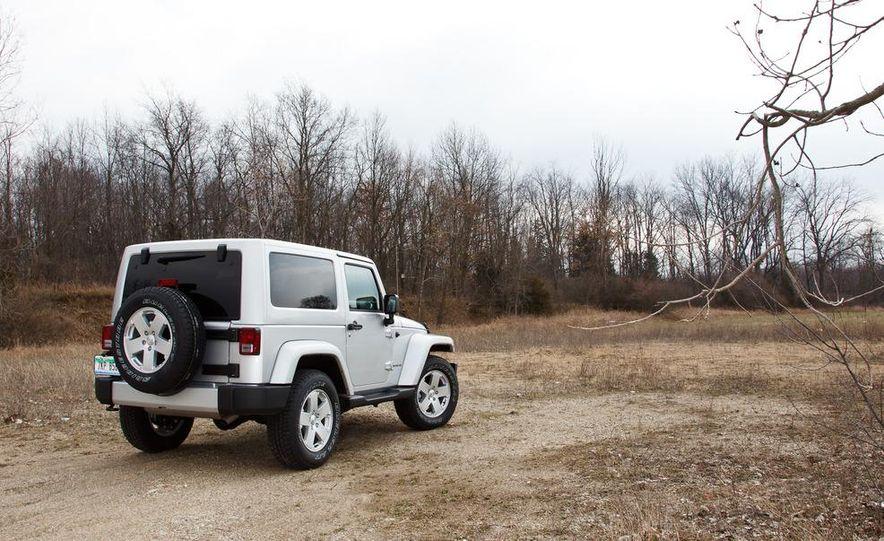 2012 Jeep Wrangler Sahara - Slide 1
