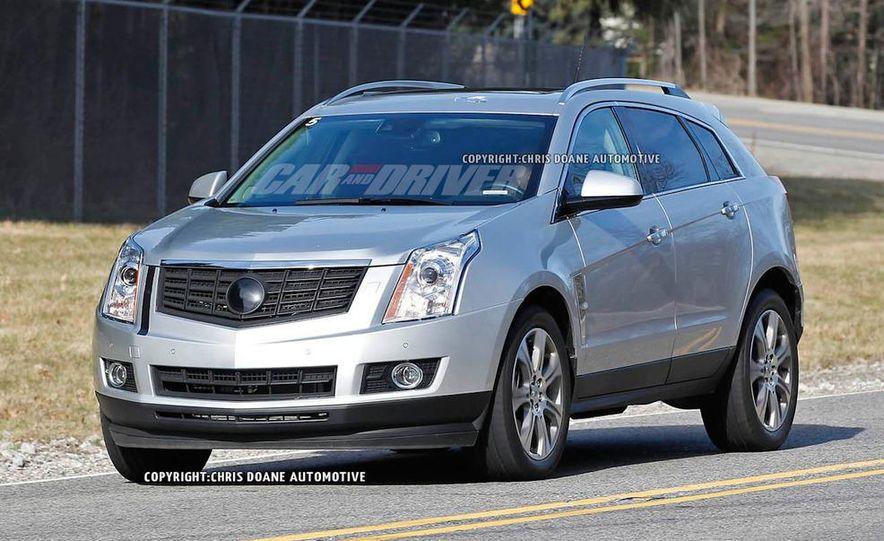 2013 Cadillac SRX (spy photo) - Slide 2