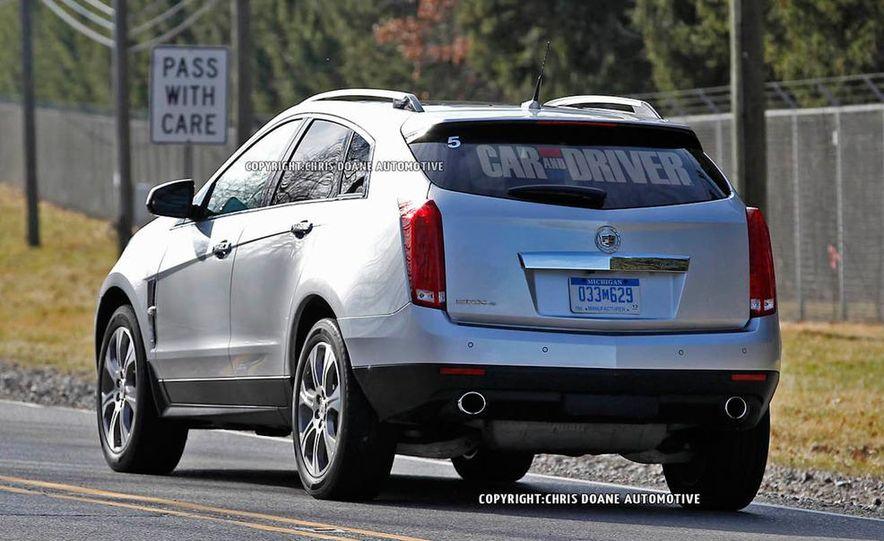 2013 Cadillac SRX (spy photo) - Slide 4