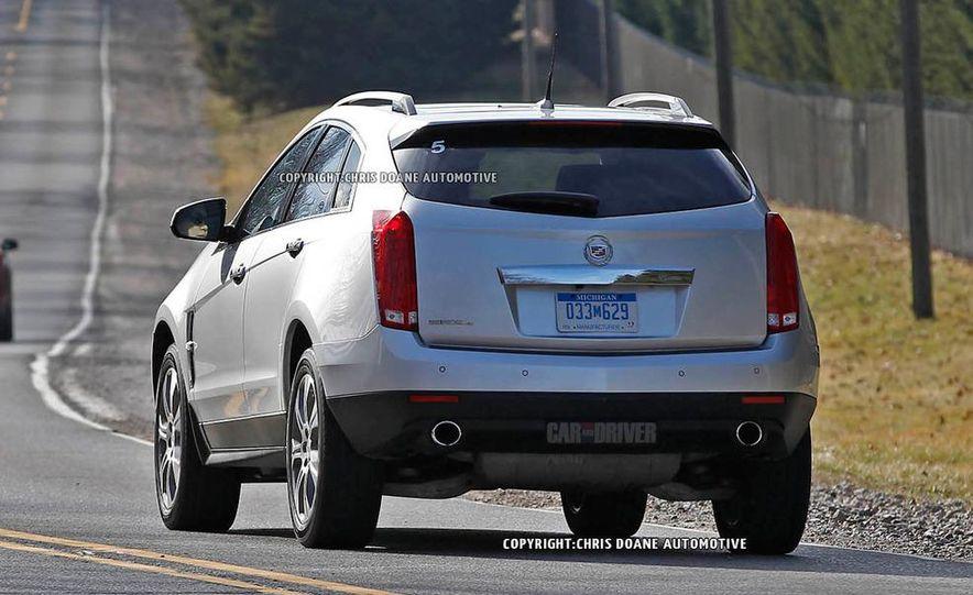 2013 Cadillac SRX (spy photo) - Slide 5