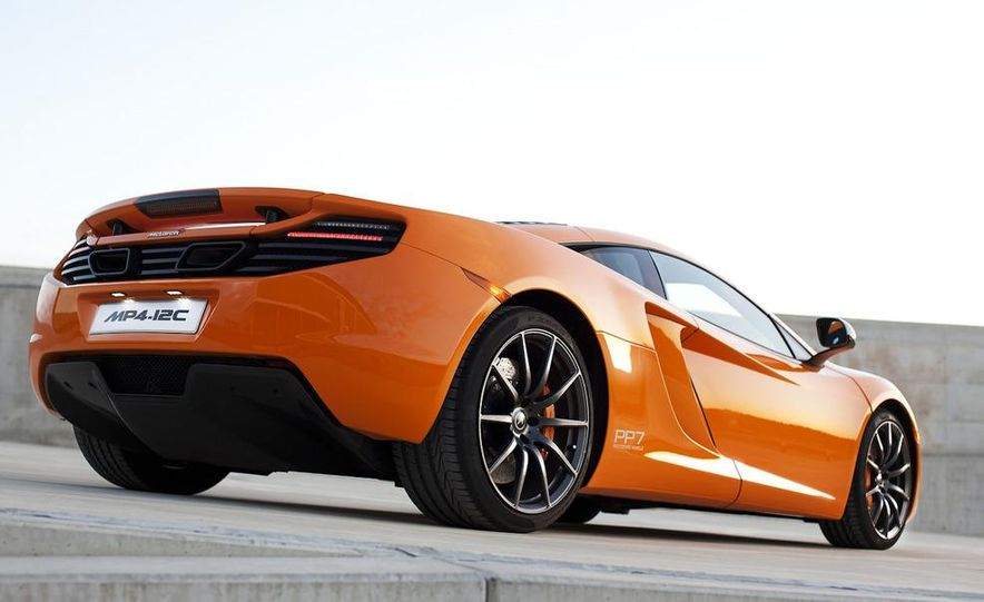 2014 McLaren MP4-12C Spider (artist's rendering) - Slide 18