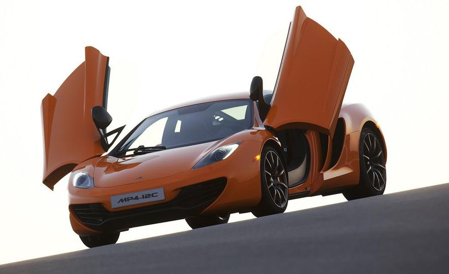 2014 McLaren MP4-12C Spider (artist's rendering) - Slide 8