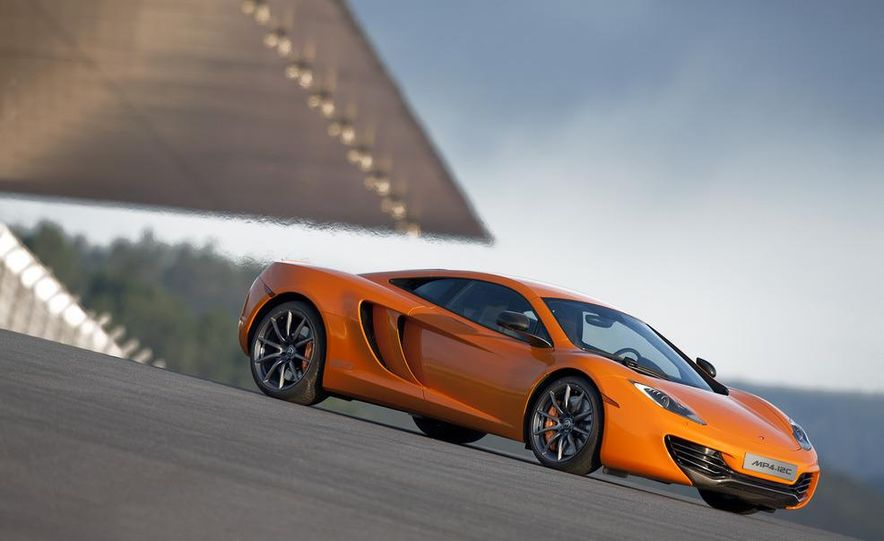 2014 McLaren MP4-12C Spider (artist's rendering) - Slide 9