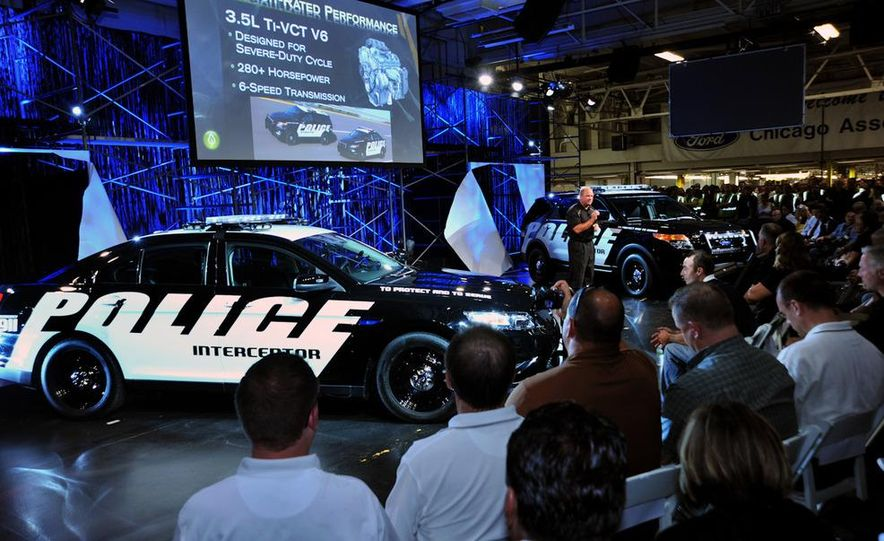 2012 Police Interceptor Utility and Ford Police Interceptor - Slide 48