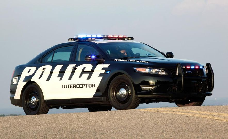 2012 Police Interceptor Utility and Ford Police Interceptor - Slide 16