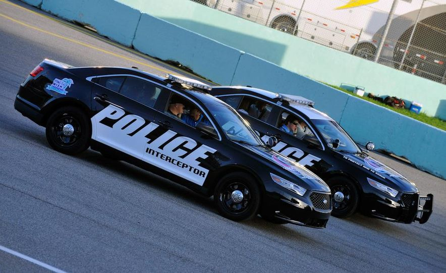 2012 Police Interceptor Utility and Ford Police Interceptor - Slide 23