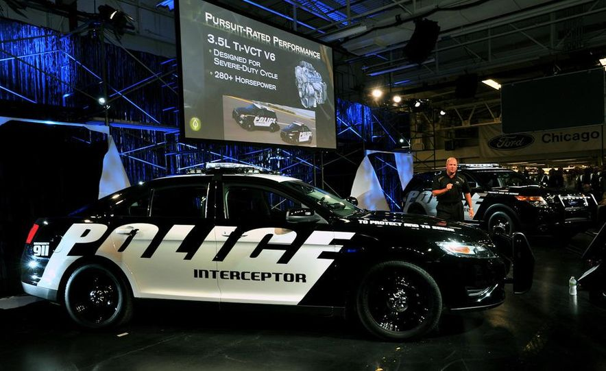 2012 Police Interceptor Utility and Ford Police Interceptor - Slide 26