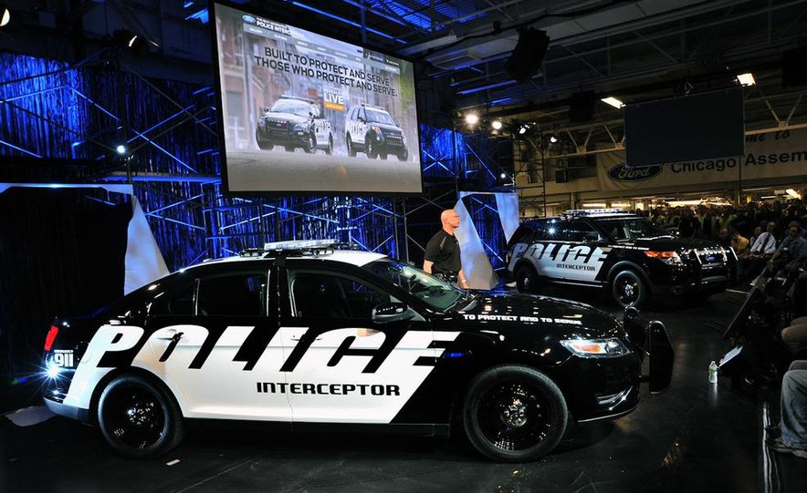 2012 Police Interceptor Utility and Ford Police Interceptor - Slide 27