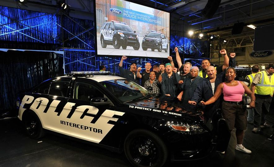 2012 Police Interceptor Utility and Ford Police Interceptor - Slide 28