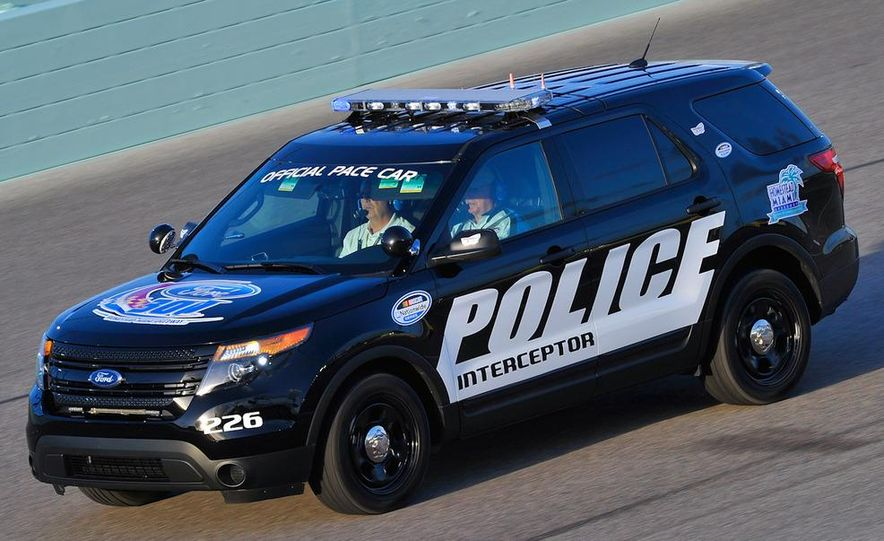 2012 Police Interceptor Utility and Ford Police Interceptor - Slide 31