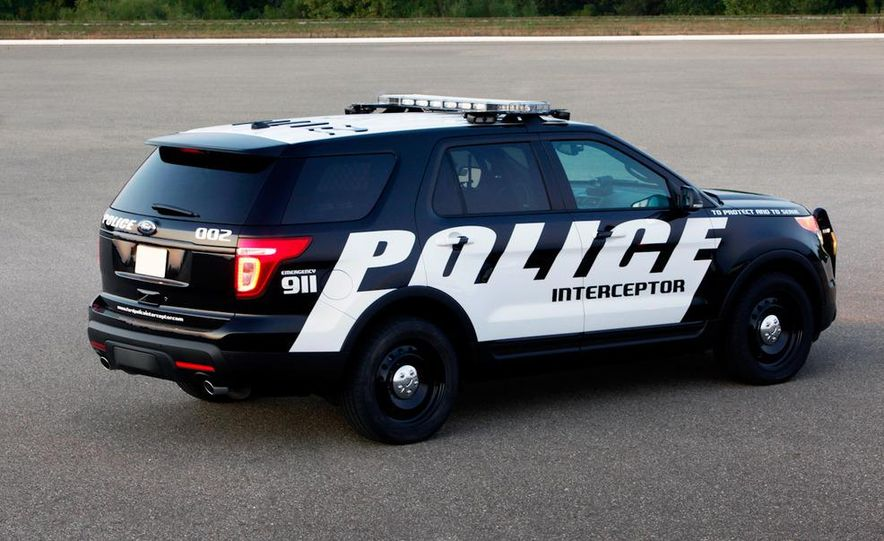 2012 Police Interceptor Utility and Ford Police Interceptor - Slide 37