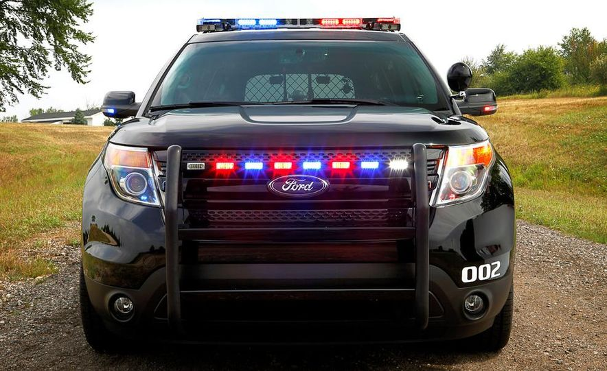 2012 Police Interceptor Utility and Ford Police Interceptor - Slide 45