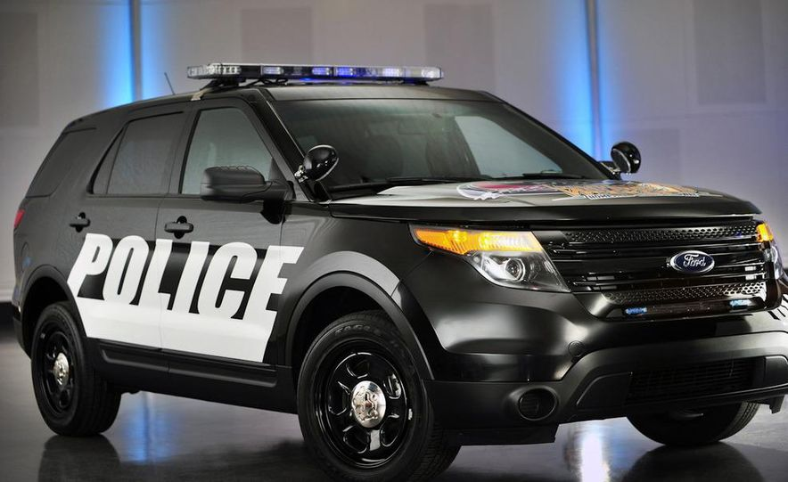 2012 Police Interceptor Utility and Ford Police Interceptor - Slide 51