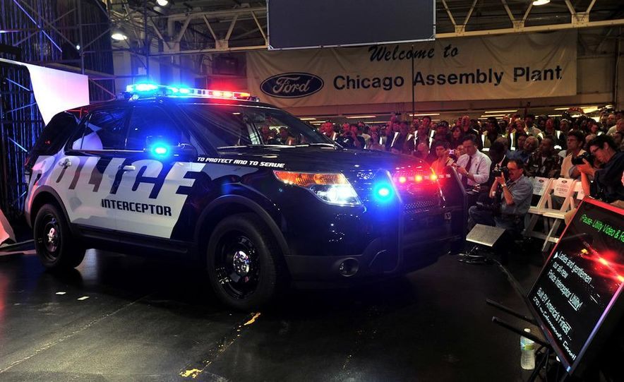 2012 Police Interceptor Utility and Ford Police Interceptor - Slide 53