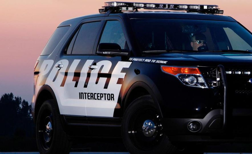 2012 Police Interceptor Utility and Ford Police Interceptor - Slide 54