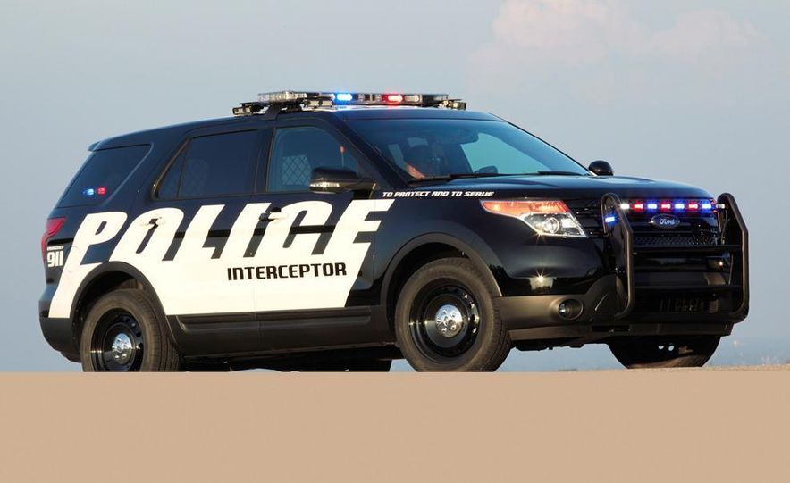 2012 Police Interceptor Utility and Ford Police Interceptor - Slide 57