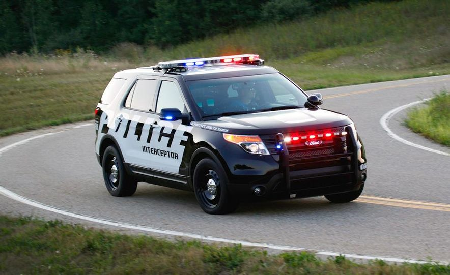 2012 Police Interceptor Utility and Ford Police Interceptor - Slide 58